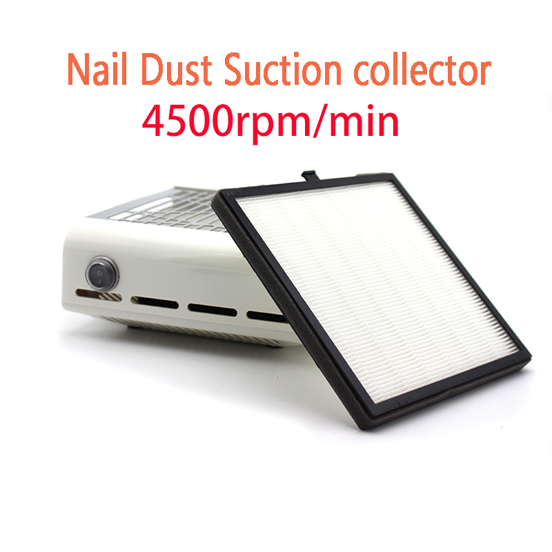 Strong Power 4500rpm/min Nail Fan Art Salon Suction Dust Collector Machine Vacuum Cleaner UV Gel Machine Nail Dust Collector 24w nail fan art salon suction dust collector machine vacuum cleaner salon tool acrylic uv gel machine nail dust collector