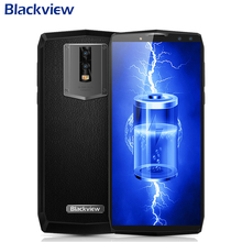 Original Blackview P10000 Pro Mobile Phone 5.99inch 4GB RAM 64GB ROM MTK6763 Octa Core Android 7.1 4 Cameras 11000mAh Smartphone