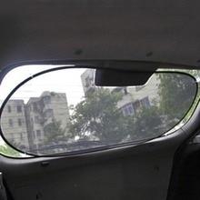 Автомобильный солнцезащитный козырек, полностью черный, сетка на заднее стекло, задняя шестерня, нейлоновая сетка, автомобильный солнцезащитный козырек, УФ-отражатель, защита 100*50 см