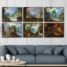 Home Decoration Art Wall Pictures Fro Living Room Poster Print Canvas Paintings Netherlandish Roelandt Savery