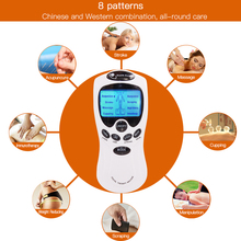 Portable Digital Therapy TENS Machine (8 Pads)