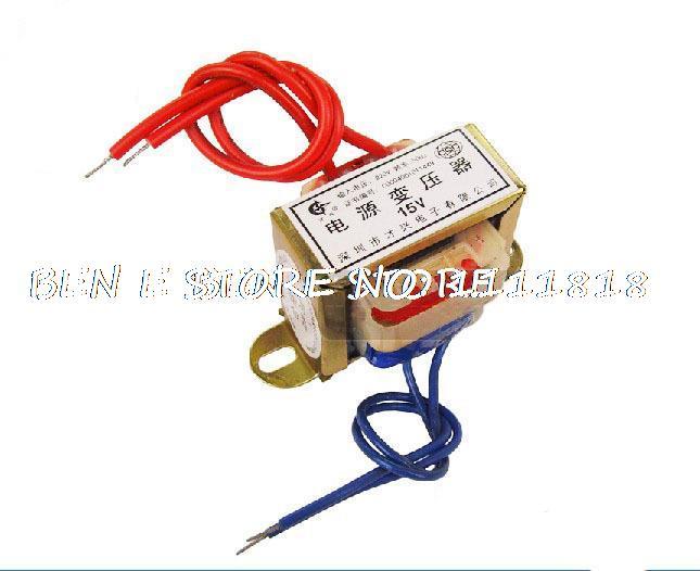 (1) 15VAC-0-15VAC Output Voltage 3W EI Ferrite Core Input 220V 50Hz Vertical Mount Electric Power Transformer EI 41*17 Low Fre кожаные ботинки лодыжки нубука на высоком каблуке