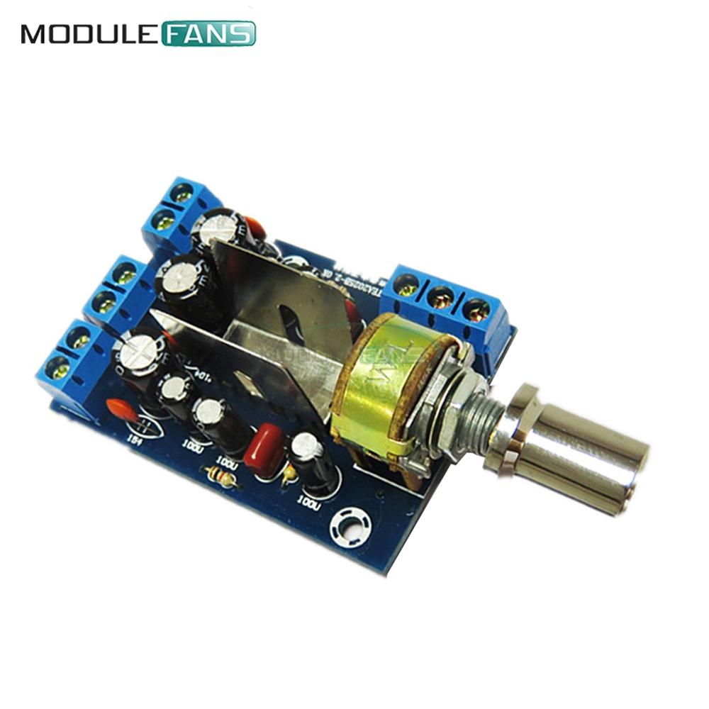US $1 02 11% OFF|TEA2025B 2 0 Stereo TWO Double Dual Channel 2CH Mini Audio  Amplifier Board Module For PC Speaker 3W+3W 5V 9V 12V CAR-in Integrated