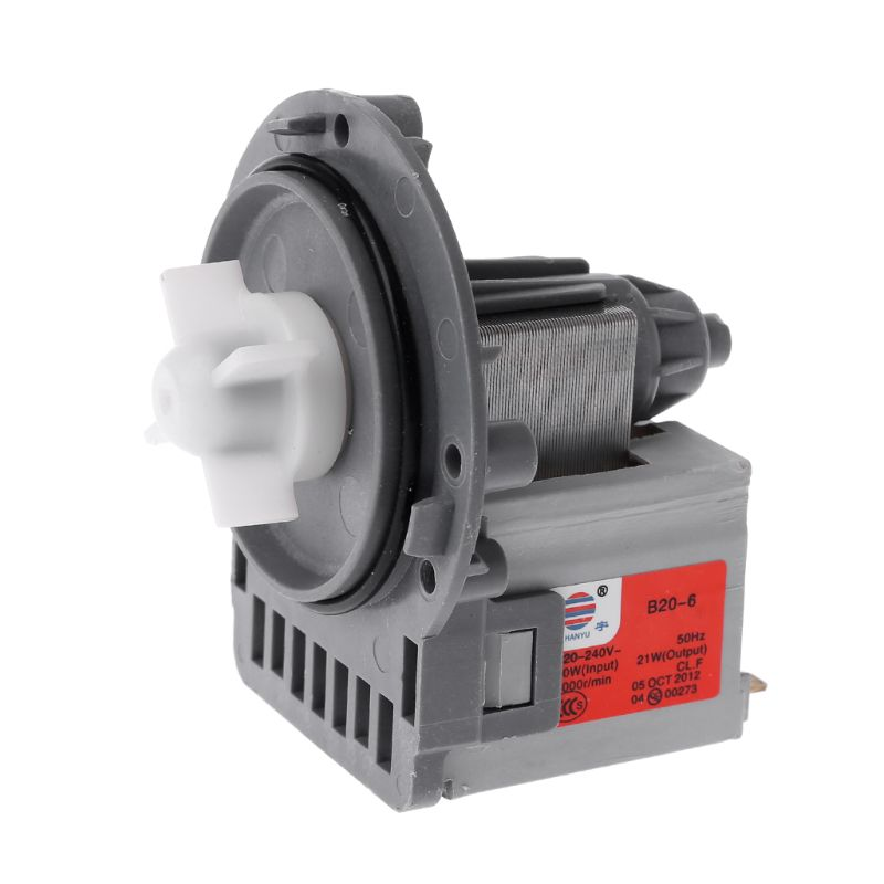 Durable 1PC Drain Pump Motor Water Outlet Motors Washing Machine Parts For Samsung LG Midea Little Swan-in Washing Machine Parts from Home Appliances