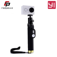 YI Selfie Stick Bluetooth Remote Controller For Universal Yi Action Camera Alloy Sports Action Camera Accessories