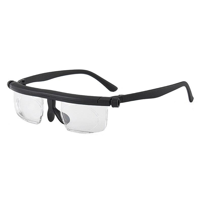 Adlens Focus Adjustable Men Women Reading Glasses Myopia Eyeglasses -6D To +3D Diopters Magnifying Variable Strength