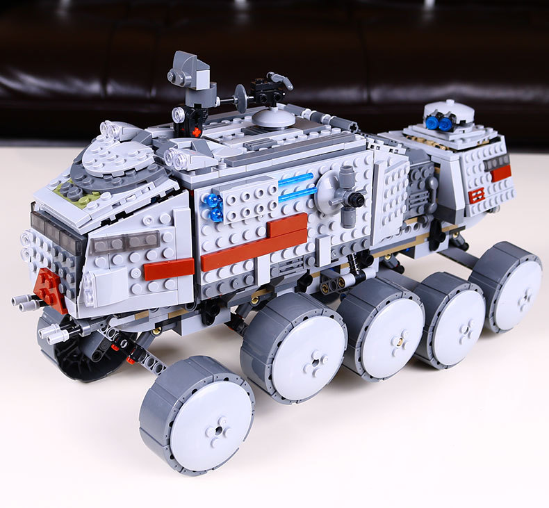 LEPIN 05031 Star Series War 933Pcs Clone legoing Turbo Model Tank 75151 Building Blocks Compatible with Boys Toys Birthday Gift