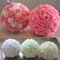 diameter 20cm Artificial Flower Silk Rose Ball For Wedding Mariage party  Christmas diy Decoration Home Decor Supplies