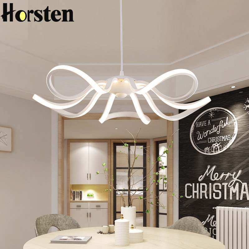 Horsten LED Pendant Lights Living Room Pendant Lighting Suspension Luminaire Hanging Lamp Modern Acrylic Aluminum Pendant Lamp horsten modern simple led pendant lamps dining pendant lights aluminum acrylic ring hanging lamp restaurant home lighting 220v