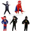 Red traje spiderman spiderman batman superman capas de super herói anime cosplay carnaval traje trajes de halloween para crianças