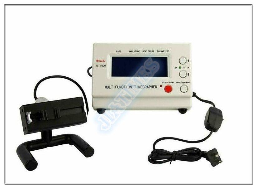 Weishi Timegrapher NO.1000 Watch Timing Machine Multifunction Tester Repair ToolWeishi Timegrapher NO.1000 Watch Timing Machine Multifunction Tester Repair Tool