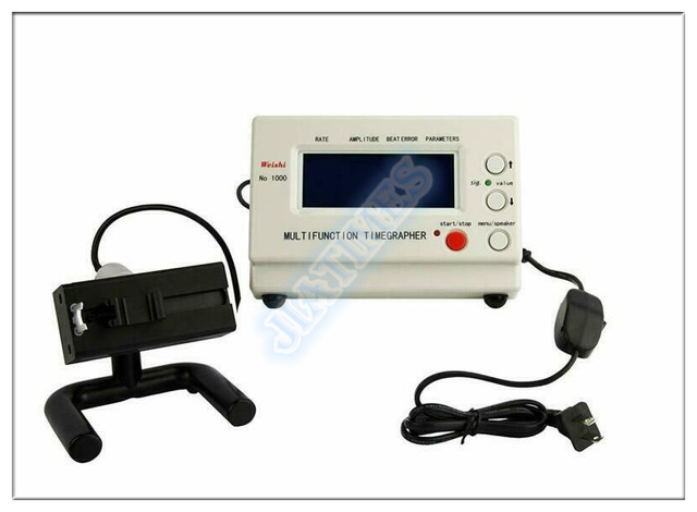 Weishi Timegrapher n. ° 1000 máquina de distribución de reloj herramienta de reparación de probador multifunción