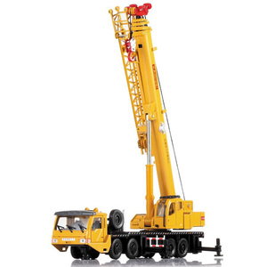 Image 3 - 1:55 Mega Lifter Alloy Diecast Model with 4 Front Wheel Steering Linkage 360 Degree Rotate Work Platform Crane Children Gifts
