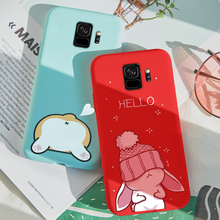 ASINA Cute Case For Samsung Galaxy S9 Silicone 3D Animal Relief Cover Plus Shockproof Bumper