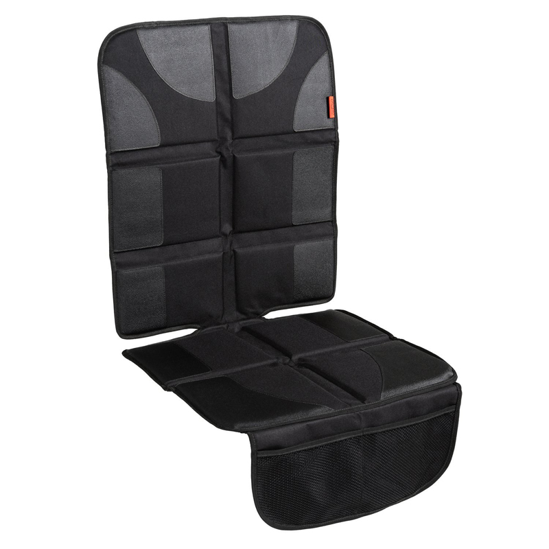 Car Seat Protector with Thickest Padding - Featuring XL Size (Best Coverage Available), Durable, Waterproof 600D Fabric, PVC