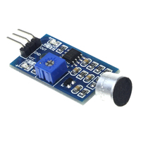 3pin Voice Sound Detection Sensor Module For Arduino DIY Intelligent Smart Vehicle Robot Helicopter Airplane Aeroplane