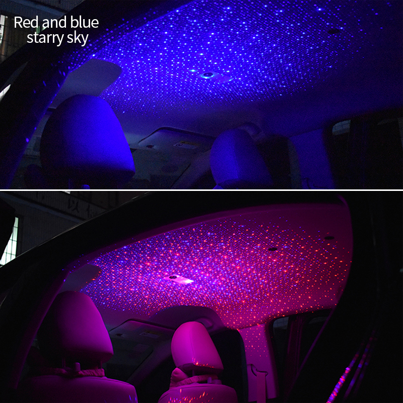 Us 33 99 30 Off Car Lights Starry Sky Night Light Projector Ambient Lighting Decoration Star Projection Atmosphere Lamp Automobiles Accessories In