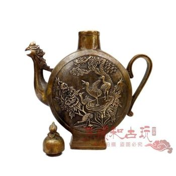 Exquisite Chinese Classical Collection Fengshui  decoration Teapot