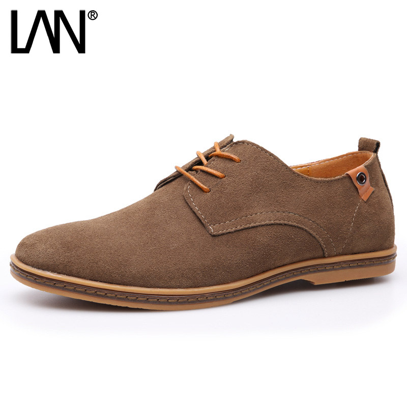 Sping Autumn Men Oxfords Shoes Faux Suede Casual Men Causal Shoes Lace Up Comfort Men Loafers Shoes New 2015 autumn winter men casual shoes fashion business suede men oxfords shoes lace up comfort casual men flats shoes