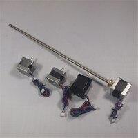 Funssor x/y/z оси экструдера шаговый двигатель 400 мм трапециевидной винт комплект/Набор для DIY Ultimaker 2 Расширенный 3D принтера