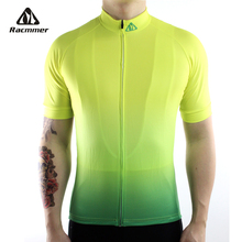 Racmmer 2020 Breathable Cycling Jersey Summer Mtb Cycling Clothing Bicycle Short Maillot Ciclismo Sportwear Bike Clothes #DX 26