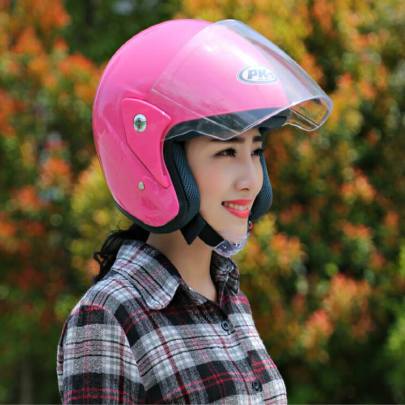 men women motorcycle helmet motorcycle-helmet scooter helmet red yellow black white gray free shipping