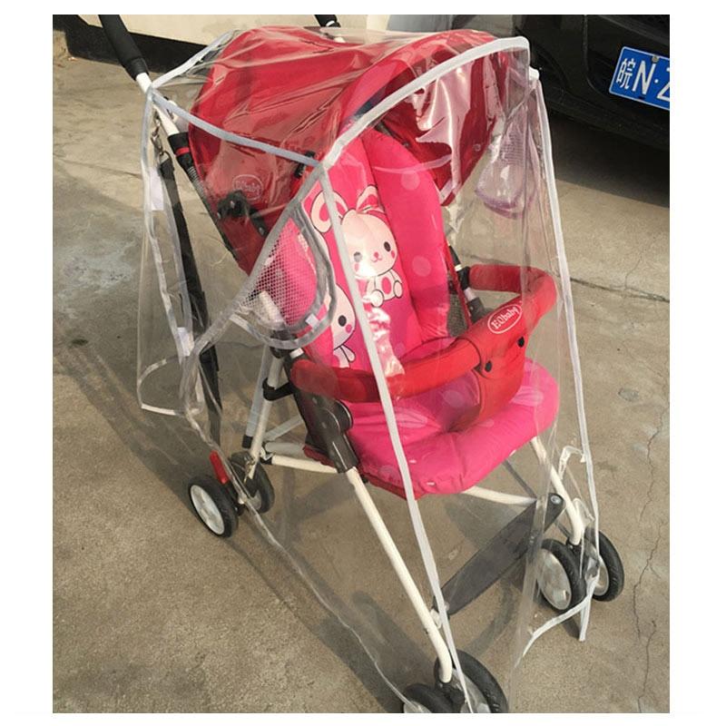 EVA Baby Cart Stroller Accessories Rain Cover Universal Baby Umbrella Car Windshield Rain Cover