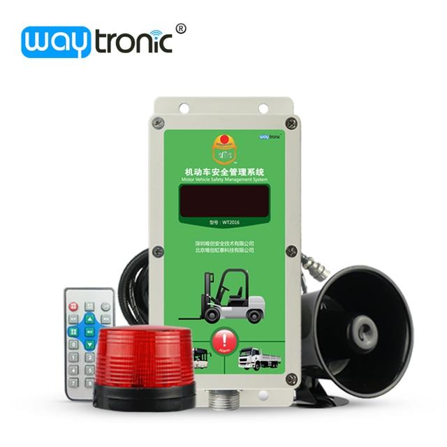 12V 24V 48V Forklift Overspeed Automatic Warning Alarm System with Wireless Speed Sensor Reverse Alarm