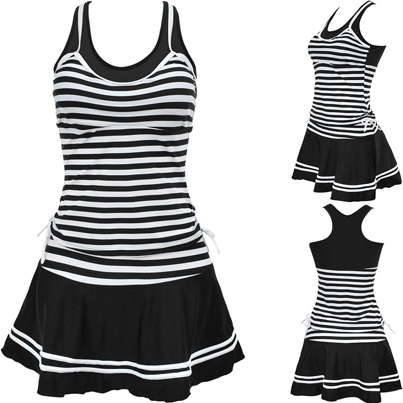 TONY Dames School Sportieve stijl Tankinis Navy strepen / - Sportkleding en accessoires
