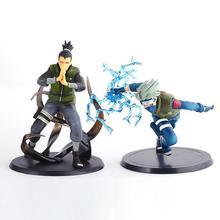 Naruto Action Figure Toys Nara Shikamaru Shippuden Hatake Kakashi PVC Model Collection