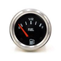 52mm 2inch 12V DC Electrical Mechanical Car Fuel Level Gauge Auto Meter With Fuel Sensor