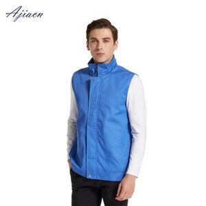 Image 4 - Direct Selling electromagnetic radiation protection metal fiber gilet homme protect body health EMF shielding sleeveless jacket
