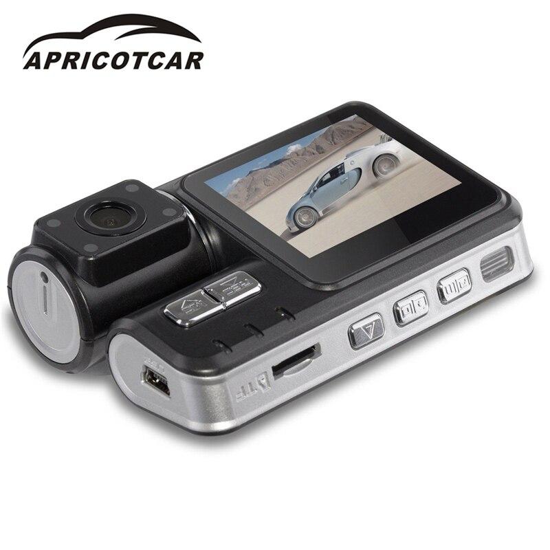 2.0 Inch HD 1080P LCD Dual Lens Car Vehicle DVR Camera Dashboard Video Recorder Cam G-Sensor Night Vision Dash Cam