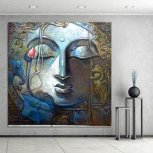Buddha Painting Canvas Art Home Decor Wall Art Oil Painting Wall Picture Living Room Large Posters Modern Print no Frame jackson pollock style living room modern wall art painting picture home decor canvas painting no frame