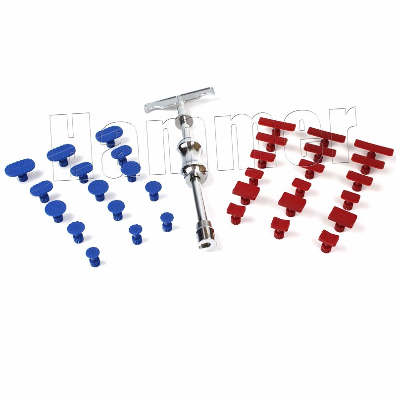 Free Shipping small slide hammer with super glue tabs pdr tools auto dent repair tools