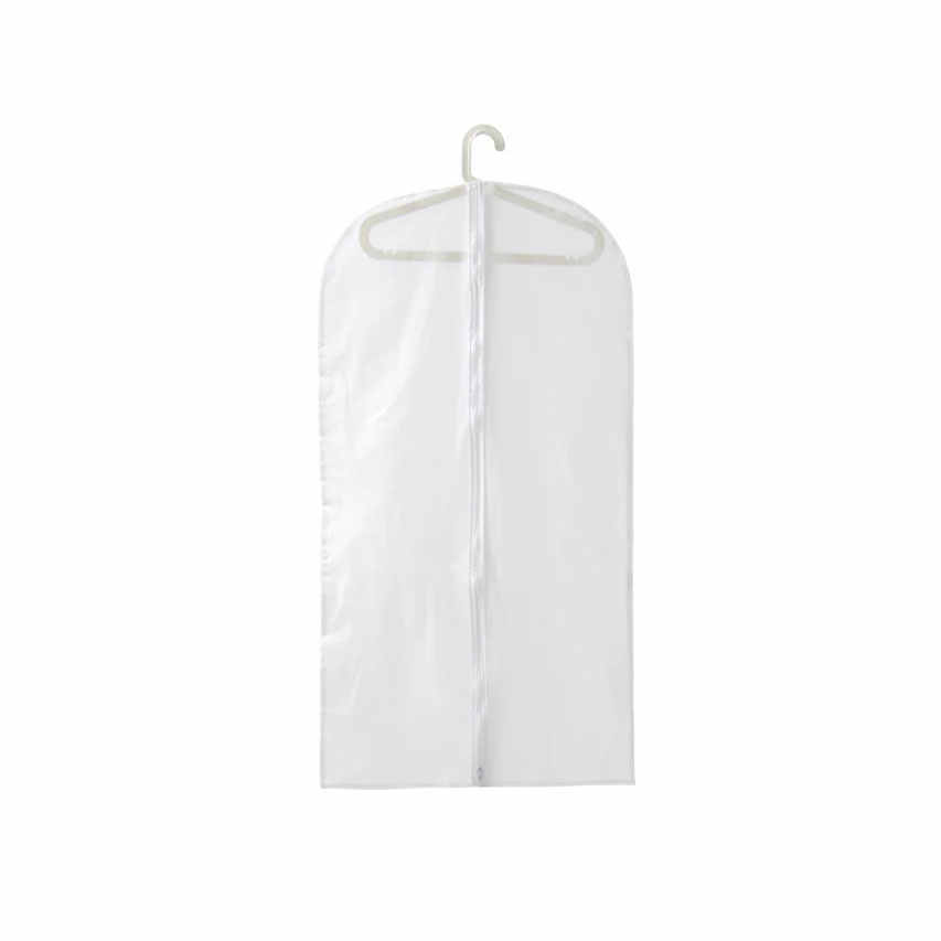 19d6add727f9 vanzlife Transparent thick waterproof coat dust jacket suit cover hanging  clothes bag clothing dust cover coat bags garment bag