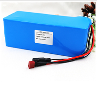 KLUOSI 10S4P 36V Battery 10Ah 600W 42V Lithium Battery Pack for Ebike Electric Car Bicycle Motor Scooter with 20A Balance BMS