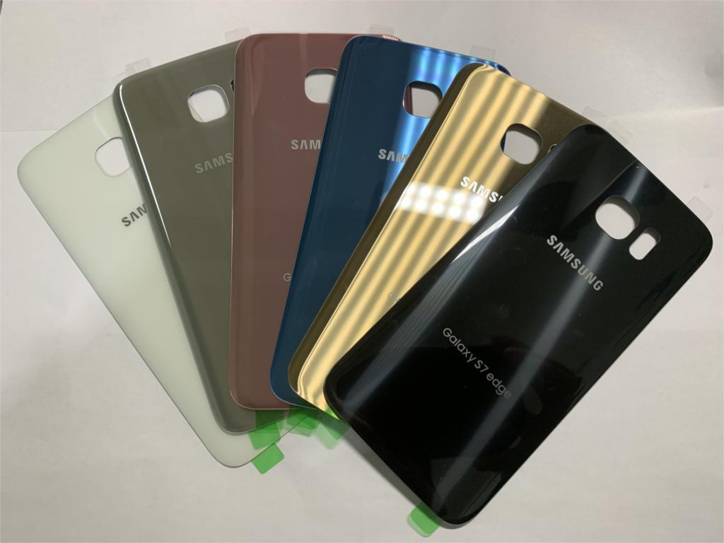 Lcd Touch Screen Digitizer Frame Voor Samsung Galaxy S7 Rand G935F G935FD Opladen Dock Kabel Home Button Met Back case - 6
