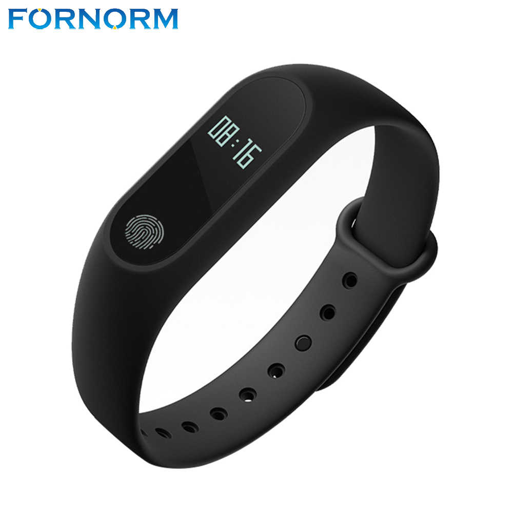 FORNORM Mi Band 2 Healthy Smart Watch Bluetooth 4.0 Smart Bracelet Heart Rate Monitor Pedometer