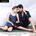 Lilysilk 100% de Seda A Juego Parejas Pijama Albornoz Para Hombre Y Mujeres Camisón Kimono Chino 22 Momme LuxurySleepwear Traje