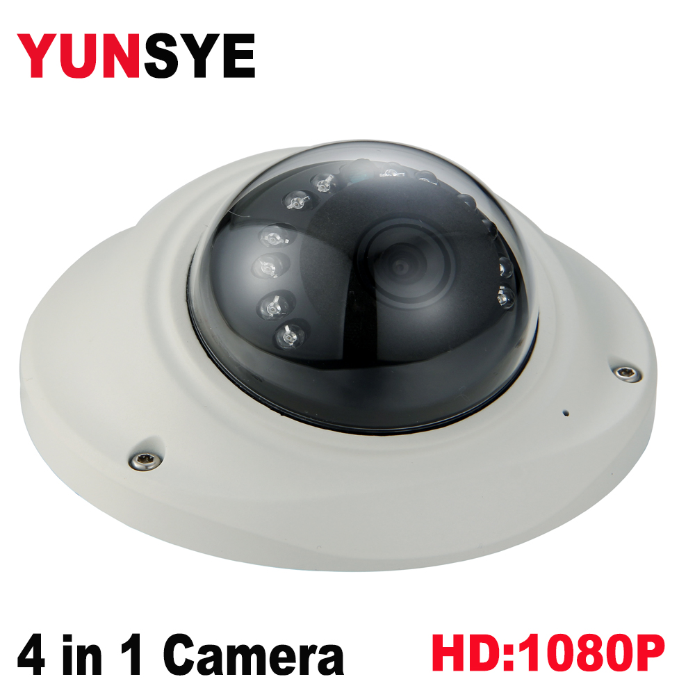 2018 NEW Super HD 2MP AHD Camera 1080p AHD Camera1080P Dome Camer 1/2.9SONY323+FH8550D, 3D NDR,UTC ir:10m 12PCS LED 4IN1 camera ...