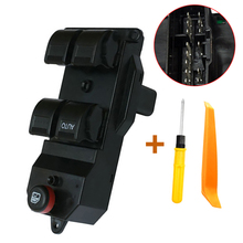 35750-S5A-A02ZA New Left Side Power Window Control Switch Fits For Honda Civic CR-V CRV 2002 To 2006