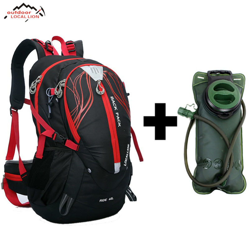 LOCAL LION 40L Stent System <font><b>Cycling</b></font> Bag Waterproof Bike Shoulder Backpack Sport Outdoor Hydration Bicycle <font><b>Cycling</b></font> Water Bag