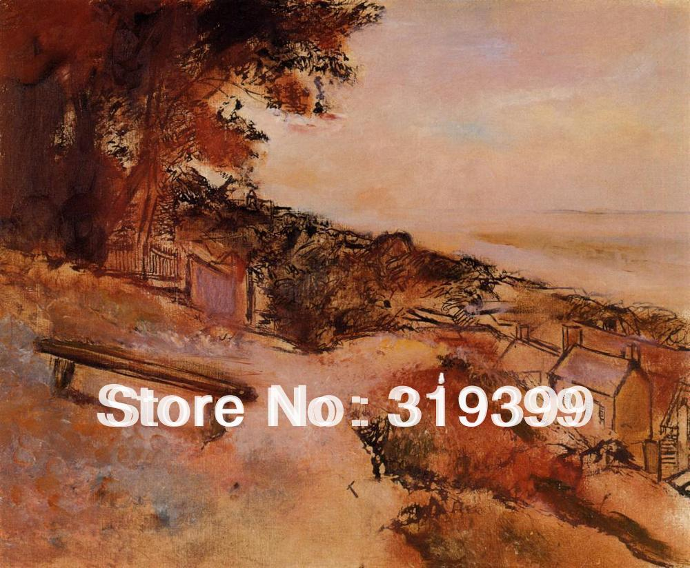 Oil Painting Reproduction on Linen Canvas,Landscape by the Sea by edgar degas ,Free DHL FAST Shipping,100%handmade,Top QualityOil Painting Reproduction on Linen Canvas,Landscape by the Sea by edgar degas ,Free DHL FAST Shipping,100%handmade,Top Quality