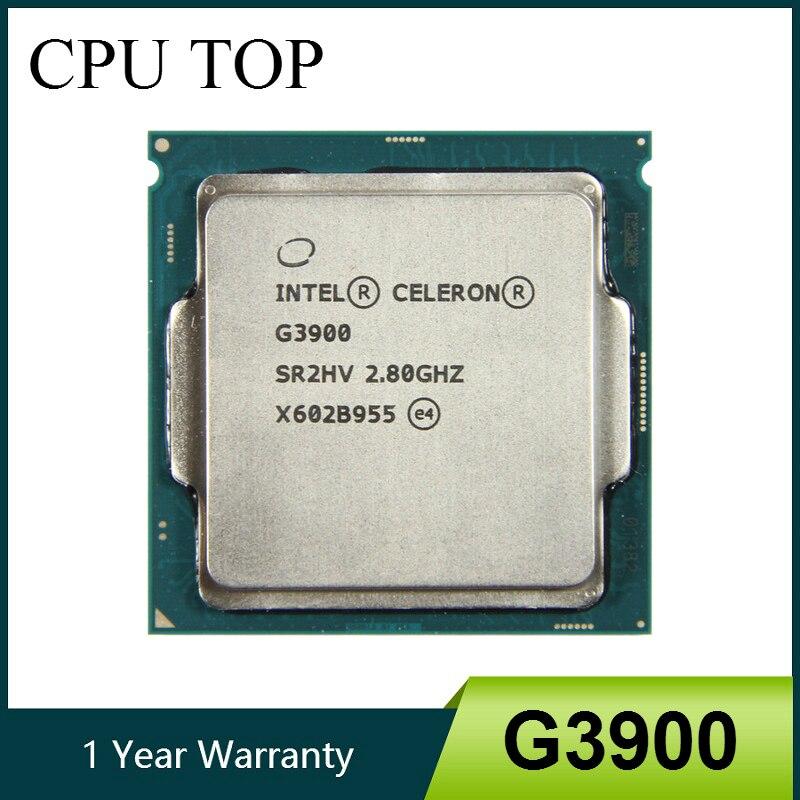 Intel Celeron G3900 2 8GHz 2M Cache Dual Core CPU Processor SR2HV LGA1151 Tray