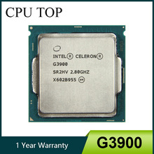Intel Celeron G3900 2.8GHz 2M Cache Dual-Core CPU Processor SR2HV LGA1151 Tray