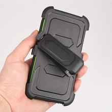 For Samsung Galaxy S6 Edge Case Slim Shockproof protector Guard Hybrid Rugged Rubber Exhausting Stand Cowl Display Protector