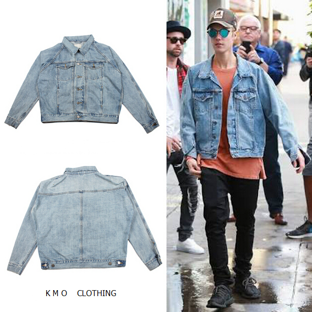 Popular Justin Bieber Denim Jacket-Buy Cheap Justin Bieber Denim ...