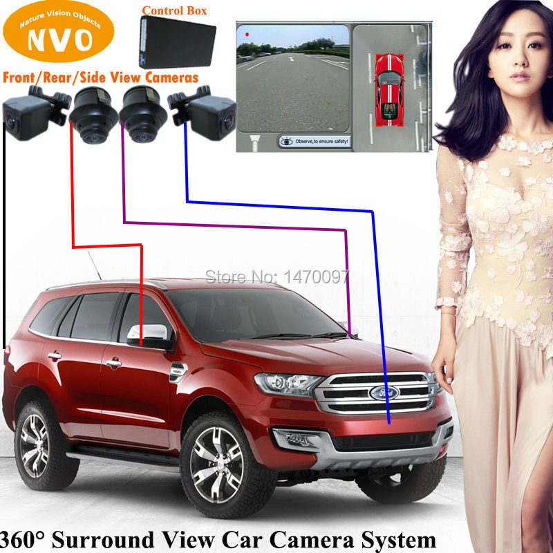 NEW LAND ROVER FRONT REAR BUMPER SURROUND SIDE VIEW PARK ASSIST REVERSING CAMERA