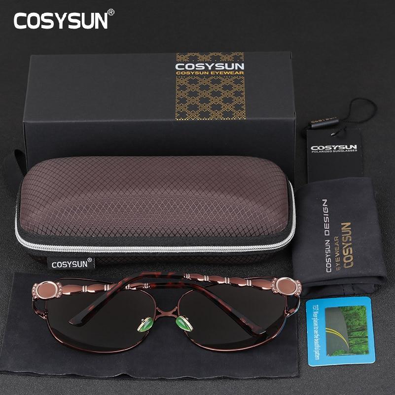 0b50768470 2018 COSYSUN Brand Polarized Sunglasses Women Driving Sun glasses Women  Brand designer Women Sunglasses Luxury Sunglasses female-in Sunglasses from  Apparel ...